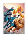 Marvel Age Fantastic Four No.4 Cover: Mr. Fantastic Láminas por Makoto Nakatsuki