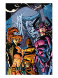 Marvel Assistant-Sized Spectacular 2 Cover: Galacta, Bloodstone, Elsa, Cage and Luke Affiches par David Williams