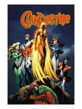 Clandestine 3 Cover: Phoenix Poster par Alan Davis