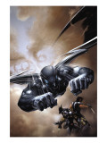 X-Force 5 Cover: Archangel Prints by Clayton Crain