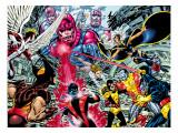 John Byrne - X-Men : Days Of Future Past Wrap Cover Cover: Wolverine Umělecké plakáty