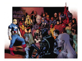Siege 2 Group: Captain America Print by Coipel Olivier