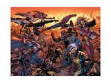 New Avengers No.50 Cover: Wolverine Kunstdruck von Billy Tan