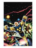 Nova: Origin Of Richard Rider Cover: Nova Prints