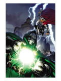 Thor 605 Cover: Dr. Doom and Thor Prints by Tan Billy