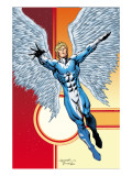 Excalibur 11 Cover: Angel Print by Lopresti Aaron