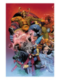 Thor: Tales of Asgard by Stan Lee & Jack Kirby No.3 Cover: Loki Fighting Print by Coipel Olivier