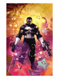 Punisher War Journal Annual No.1 Cover: Punisher Prints by Dave Wilkins