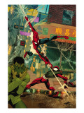Spider-Man: The Clone Saga No.6 Cover: Spider-Man and Scarlet Spider Posters by Chris Cross
