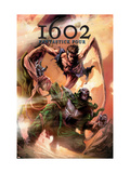 Marvel 1602: Fantastick Four 5 Cover: Mr. Fantastic and Dr. Doom Posters