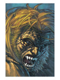Weapon X 28 Cover: Sabretooth Fighting Affiches