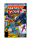 Fantastic Four 178 Cover: Spider-Man Posters by George Perez