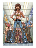 Amazing Fantasy 1 Cover: Corazon and Anya Posters by Mark Brooks