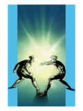 Ultimate X-Men No.63 Cover: Cyclops and Havok Posters by Immonen Stuart