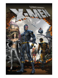 Uncanny X-Men 495 Cover: Cyclops and Emma Frost Swinging Prints by Choi Mike