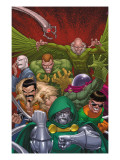 Doctor Doom And The Masters Of Evil 1 Cover: Dr. Doom Print by Roger Cruz