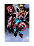 Avengers 99 Annual: Captain America, Iron Man, Wasp and Avengers Prints by Manco Leonardo