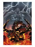 Stormbreaker: The Saga Of Beta Ray Bill No.5 Cover: Asteroth Poster by Andrea Di Vito