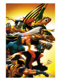 Uncanny X-Men: First Class 5 Cover: Wolverine Prints by Roger Cruz
