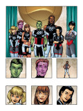 New X-Men: Academy X Yearbook Group: Anole Art par Jeanty Georges