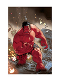 Hulk: Red Hulk Must Have Hulk No.1 Cover: Hulk Print by Daniel Acuna