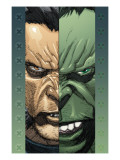 Ultimate Wolverine Vs. Hulk No.2 Cover: Logan and Hulk Affischer av Yu Leinil Francis