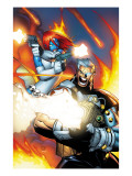 X-Men 196 Cover: Mystique and Cable Prints by Humberto Ramos