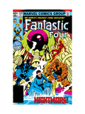 Fantastic Four No.248 Cover: Black Bolt Kunstdrucke von Byrne John