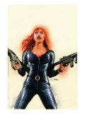 Black Widow 6 Cover: Black Widow Prints by Sean Phillips