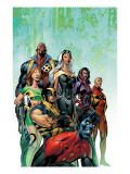 Uncanny X-Men No.445 Cover: Nightcrawler, Wolverine, Storm, Bishop, Marvel Girl and X-Men Posters par Davis Alan