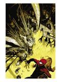 The Amazing Spider-Man No.557 Cover: Spider-Man Planscher av Chris Bachalo
