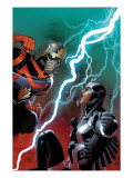 Guardians of the Galaxy No. 14 Cover: Star-Lord and Black Bolt Prints by Salvador Larroca