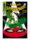 The Amazing Spider-Man No.63 Cover: Vulture Flying Prints by John Romita Sr.