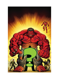 Hulk: Red Hulk Must Have Hulk No.1 Cover: Hulk Art by McGuiness Ed