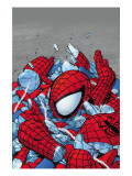 Amazing Spider-Man No.565 Cover: Spider-Man Prints by Phil Jimenez