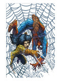 Marvel Team Up No.5 Cover: X-23 and Spider-Man Print by Kolins Scott