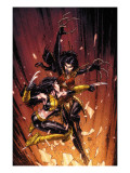 New X-Men 45 Cover: X-23 and Lady Deathstrike Prints by David Finch