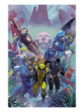 Secrets Of The House Of M Cover: Wolverine Prints by Ribic Esad