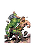 Incredible Hulk No.107 Cover: Hulk and Hercules Posters by Gary Frank
