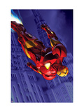 Marvel Adventures Iron Man 3 Cover: Iron Man Art by Michael Golden