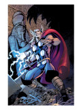 Thor: Truth Of History No.1 Cover: Thor Poster by Davis Alan