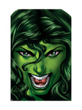 She-Hulk 25 Cover: She-Hulk Posters by Shawn Moll