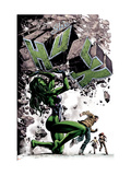 She-Hulk 24 Cover: She-Hulk Prints by Mike Deodato Jr.