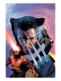 X-Men: The End No.1 Cover: Wolverine, Cyclops and Storm Prints by Greg Land