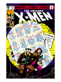 Uncanny X-Men No.141 Cover: Wolverine, Pryde and Kitty Charging Posters by John Byrne