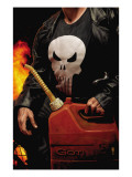Punisher MAX No.30 Cover: Punisher Poster von Tim Bradstreet