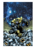 Thanos No.4 Cover: Thanos Prints by Jim Starlin