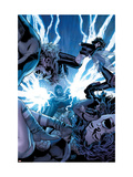 Ultimate Power No.7 Cover: Dr. Doom and Wasp Prints by Greg Land