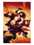 Psylocke 2 Cover: Psylocke Prints by David Finch