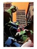 Exiles No.97 Cover: Blink and Hulk Prints by Tomm Coker